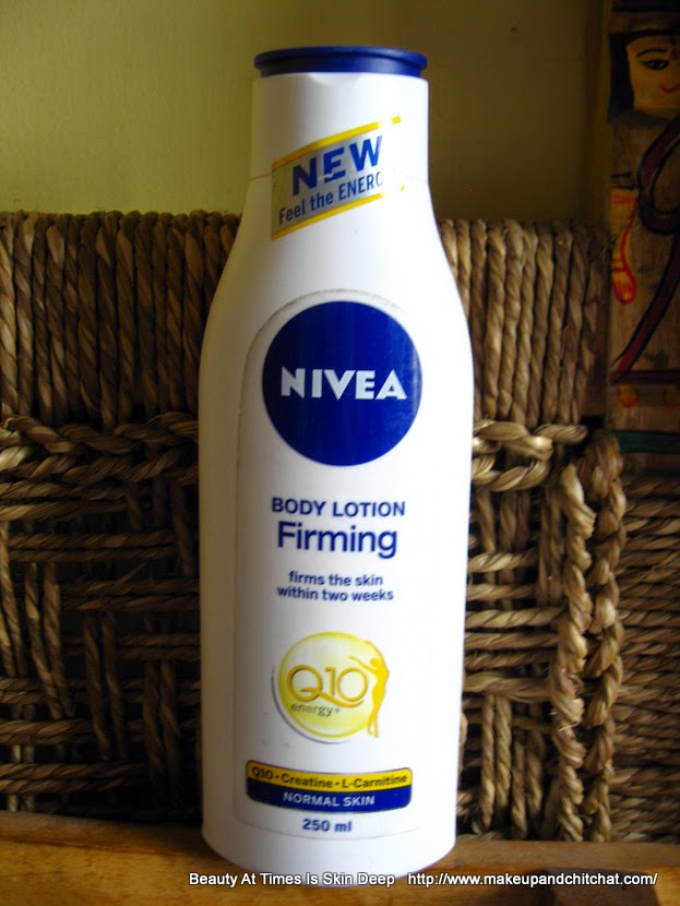 Nivea Firming Body Lotion Q10 energy+ Review