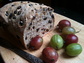 homemade fruit bread