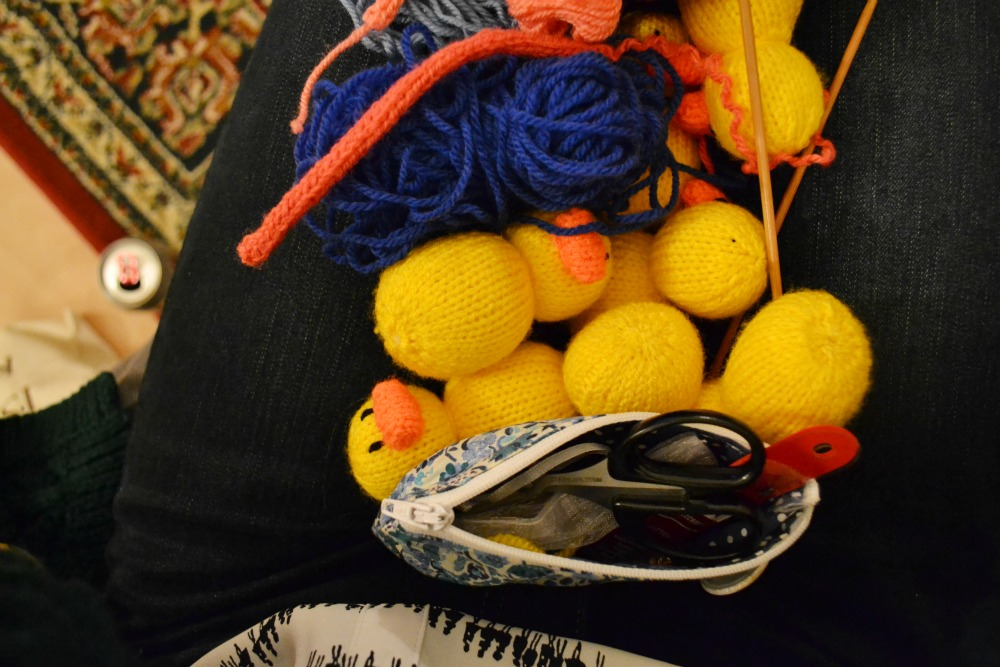 knitting ducks supplies