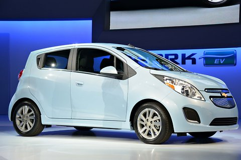 2014 Chevy Spark EV Electric Range Revealed
