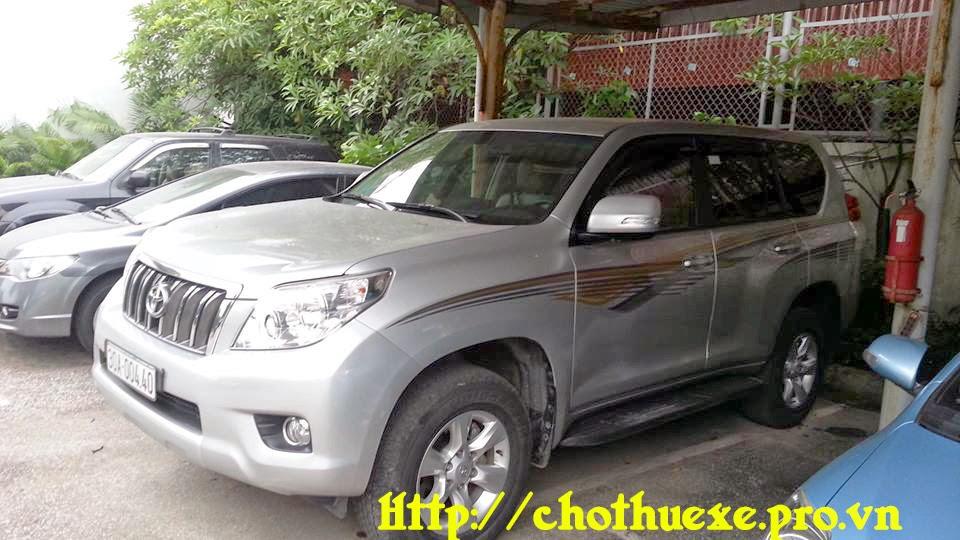 Cho thuê xe Toyota Prado Land cruiser