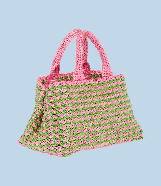 Prada Bags: Bolsos Prada Ganchillo