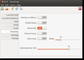 Configura Unity con unsettings, configurar Unity, programa configurar unity