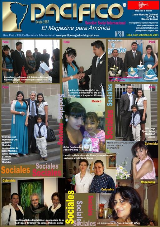 Revista Pacífico Nº 30 Social Internacional