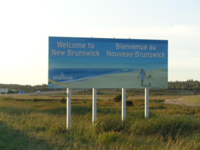 welcome to beautiful New Brunswick Canada