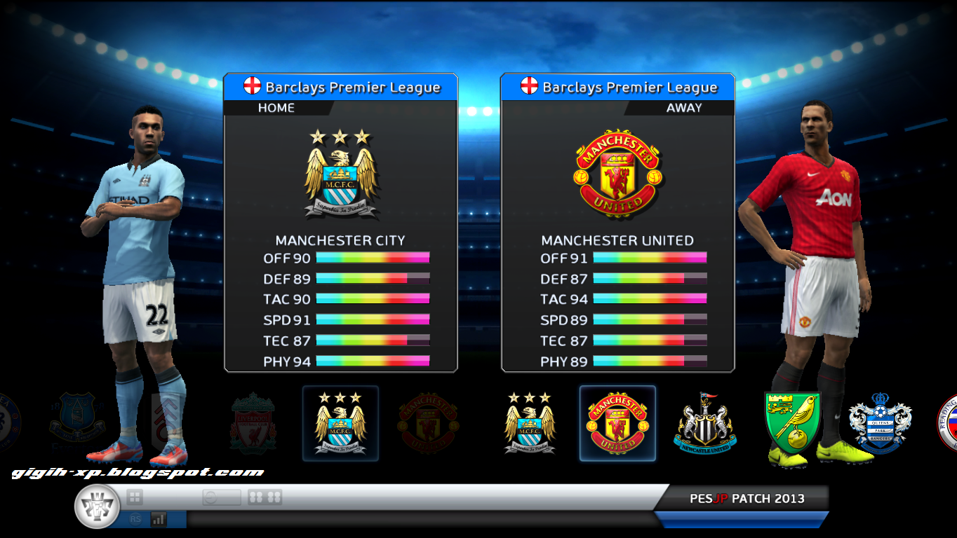Cost-free Download Newes Update For The Games PES 2013 PESTN 2013 Patch 6