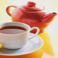 Centelha asiática em chá