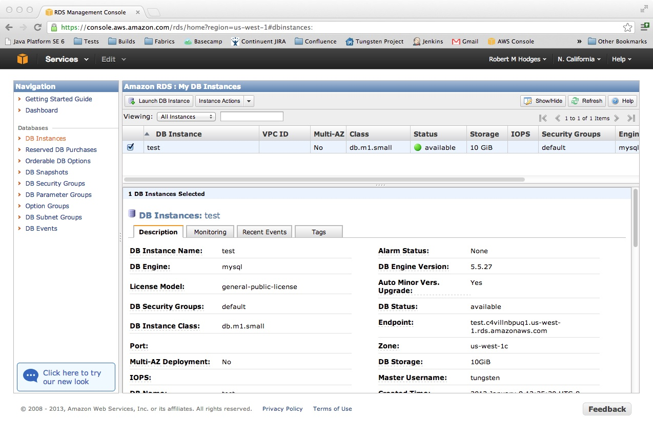 How Can I See The Properties Of An Aws Instance