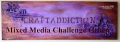 CraftAddiction Mixed Media Challenge op Facebook