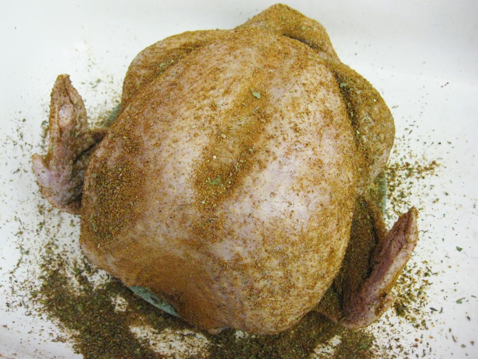 Fried Turkey With Southern Rub Recipe — Dishmaps
