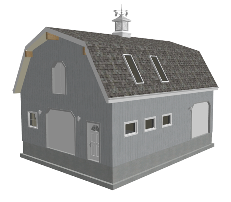 PDF Barn Plans - Download barn plans and blueprints