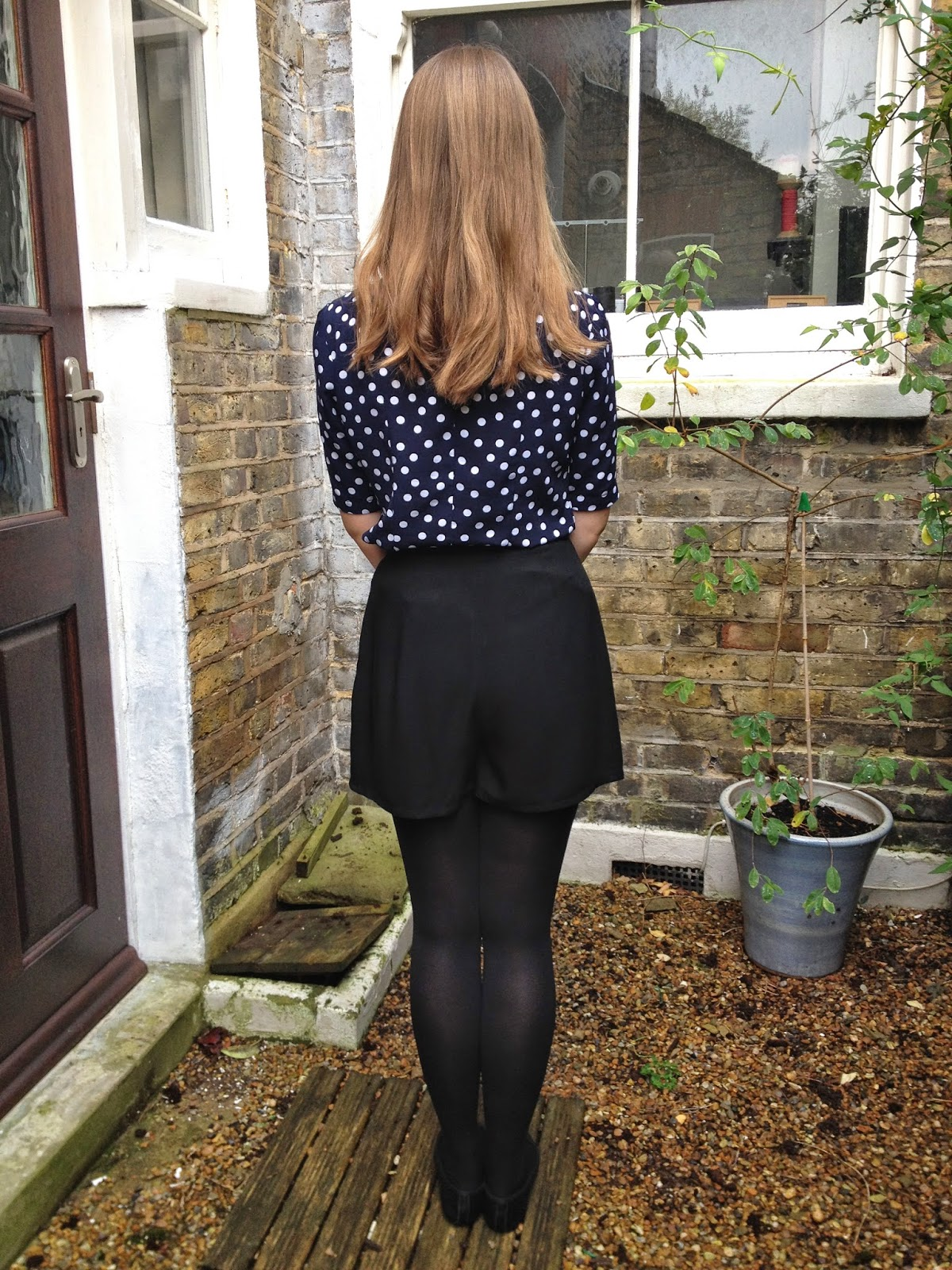 Diary of a Chain Stitcher: Black Viscose By Hand London Holly Shorts
