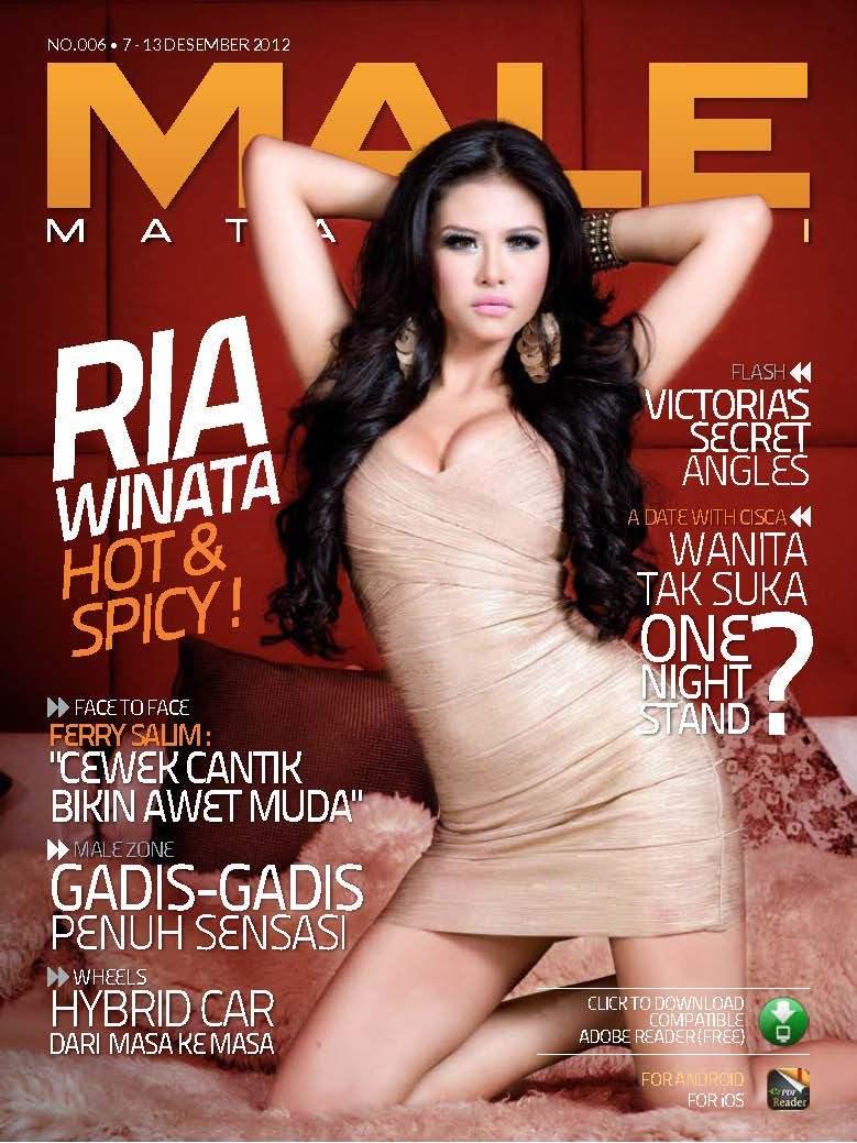 Majalah Male Edisi ke-enam bersama Ria Winata, Majalah Mata Lelaki