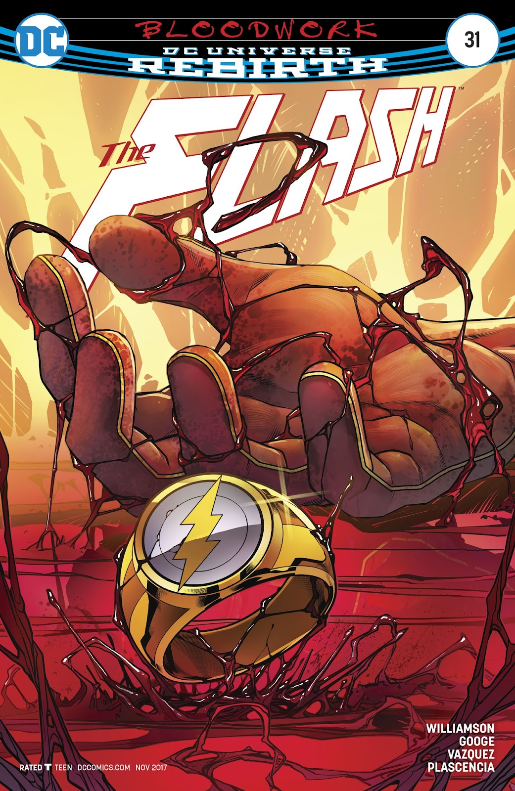 The Flash (2016) issue 31 - Page 1