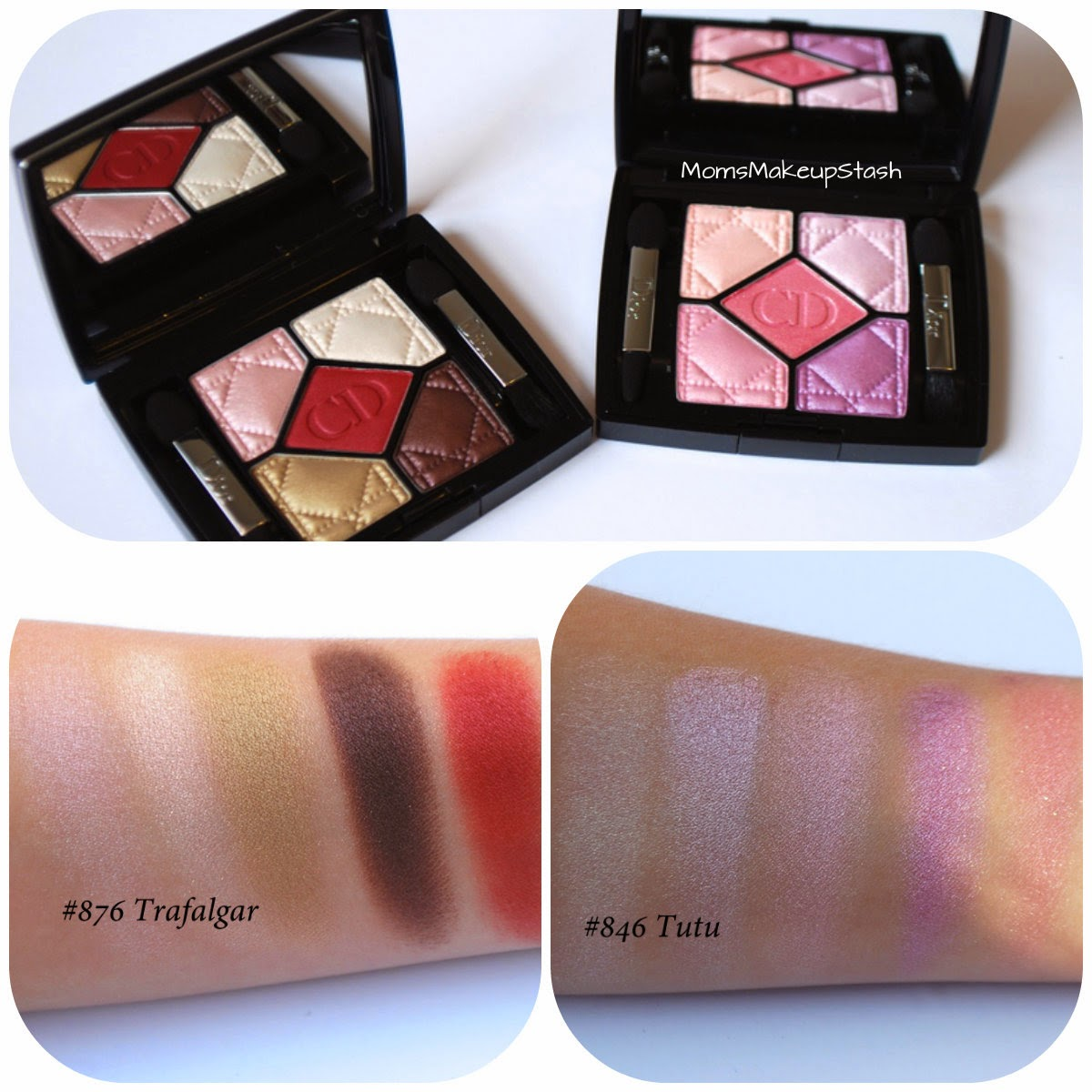Dior Fall, Dior Fall 2014, Dior Fall Collection, Dior 5-Couleurs Palette, Dior Eye Shadow Review, Dior Fall Swatches, Dior Trafalgar, Dior Tutu