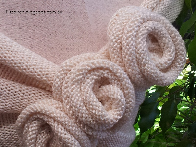 Fitzbirch Crafts Summer Rose Capelet