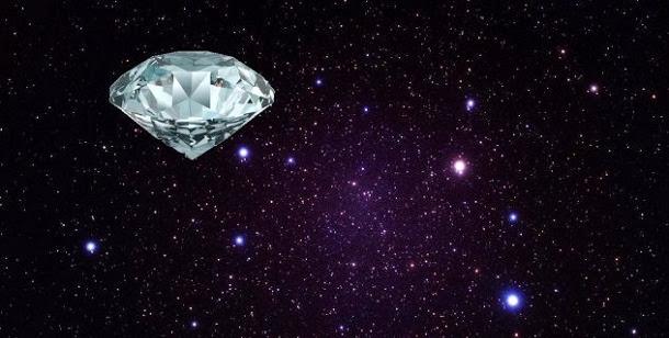 A estrela que transformou outra estrela em diamante