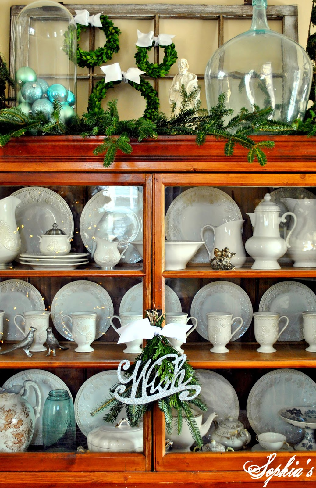 Christmas Cabinet