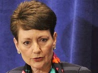 Duke Energy CEO, Lynn J. Good at Hood Hargett luncheon 14-04-02.