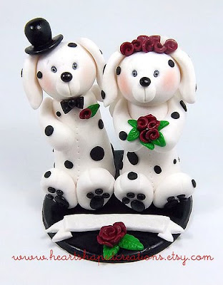 Dalmatian Dog toppers