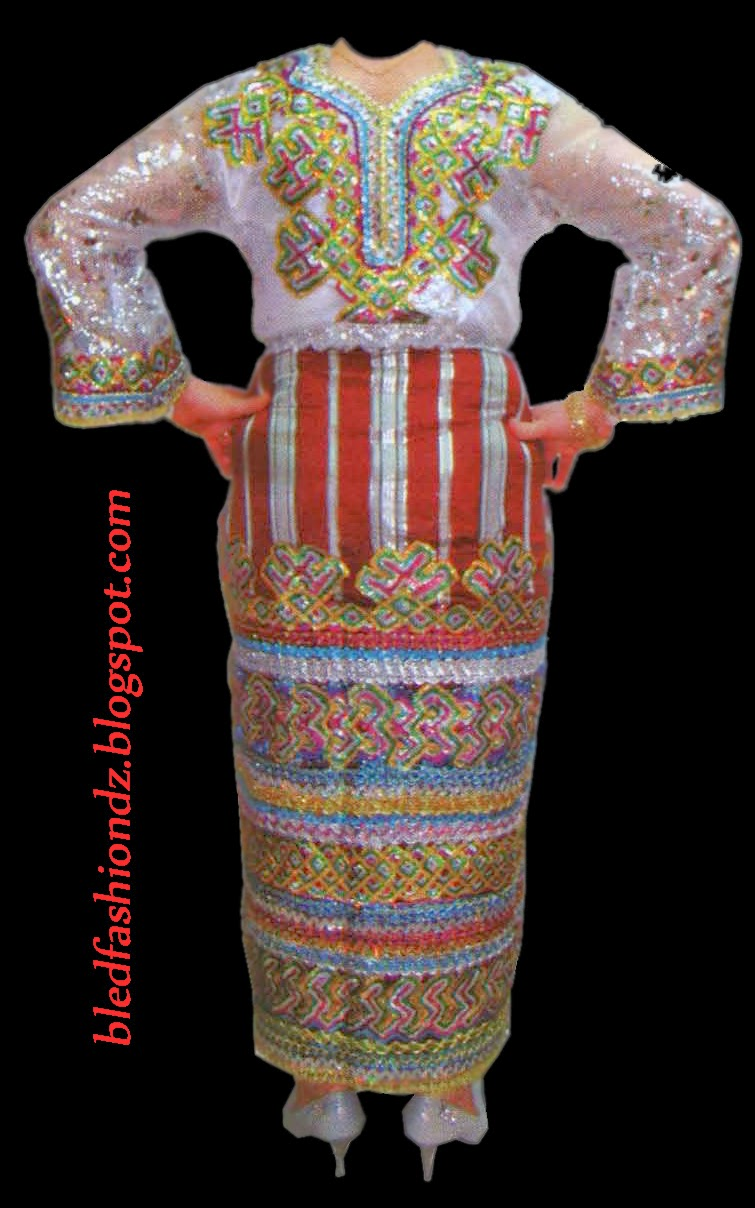 La mode alg rienne f vrier 2014 for Decoration kabyle