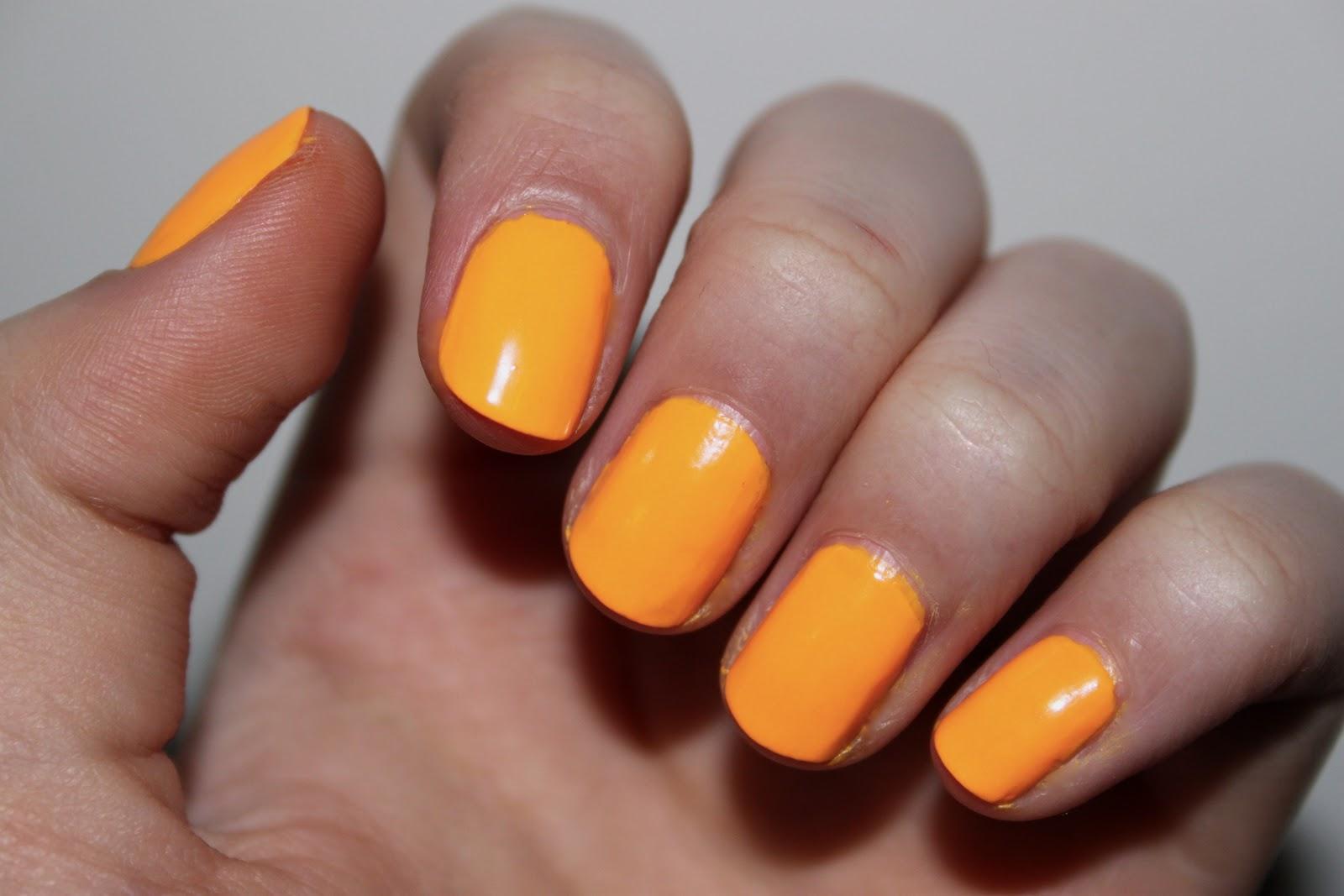 the beauty series | uk beauty blog: american apparel neon nail polish