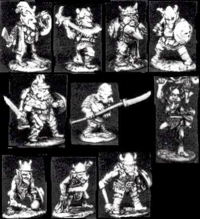 Citadel, Games Workshop, Speciality set, Goblin, raiding, party, Torg, Dwarfsmasher, oop, old