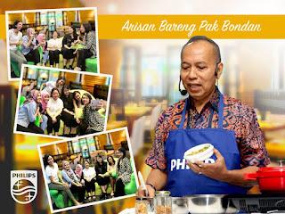 Info Kontes - Kontes foto Arisan Philips dengan Bondan Winarno #BekalNasiPhilips