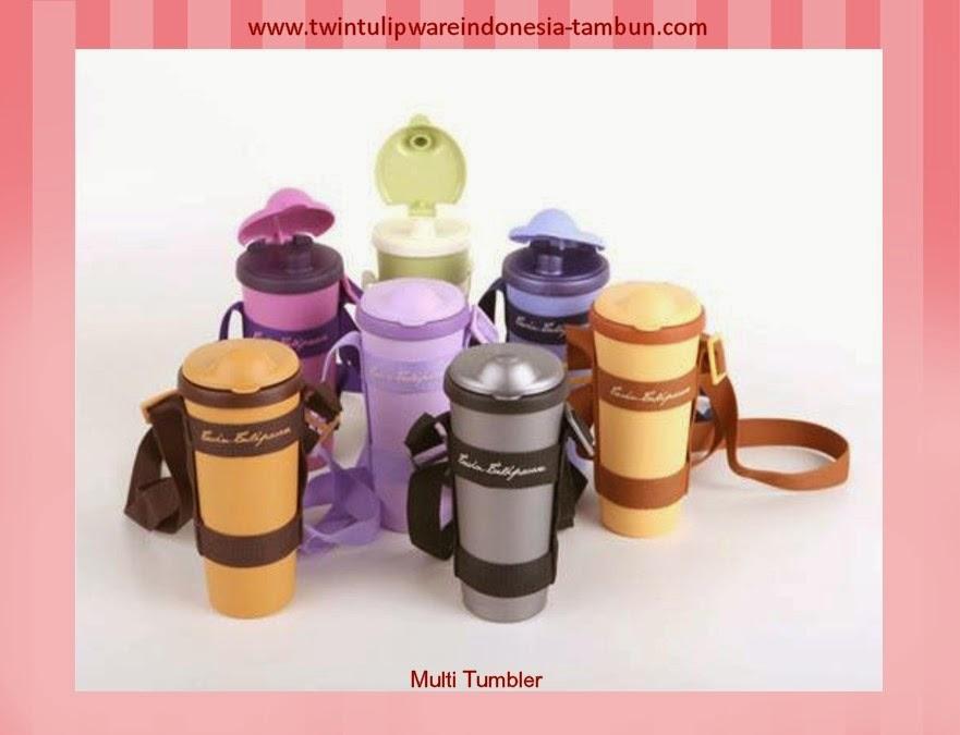 multi tumbler | produk baru tulipware 2013