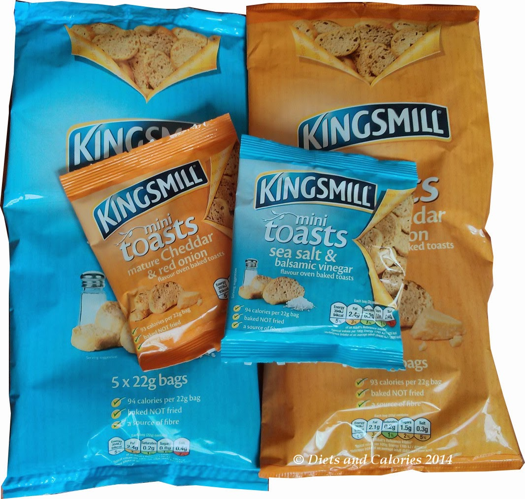 Kingsmill mini toasts multi packs