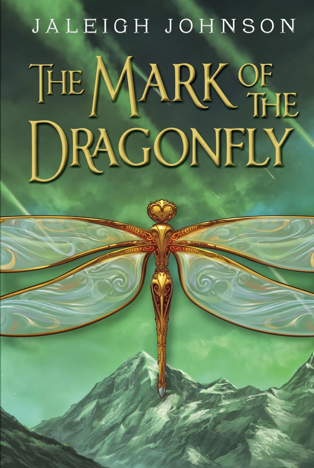 the mark of the dragonfly by jaleigh johnson book cover