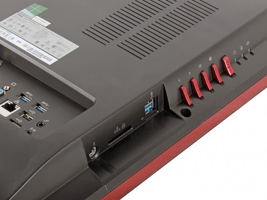 кнопки управления MSI Wind Top AG2712