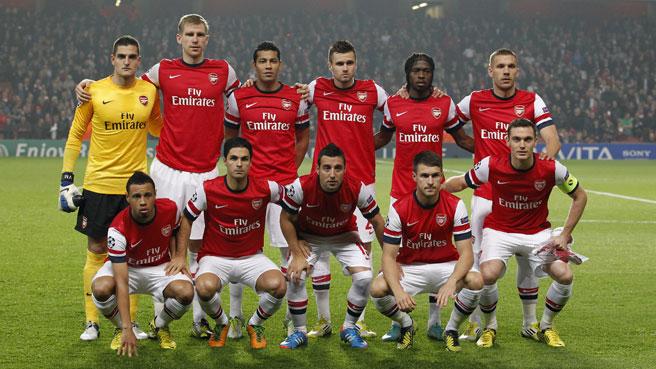 Arsenal 2014 Team