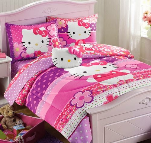 bedroom decor ideas and designs hello kitty bedding ideas