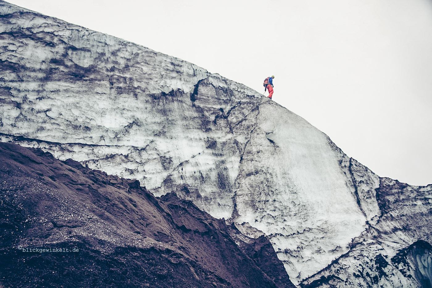 hoher Eisberg