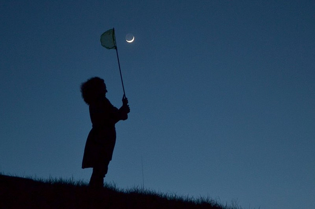 Hunting Moon oleh Jean-Baptiste Feldmann