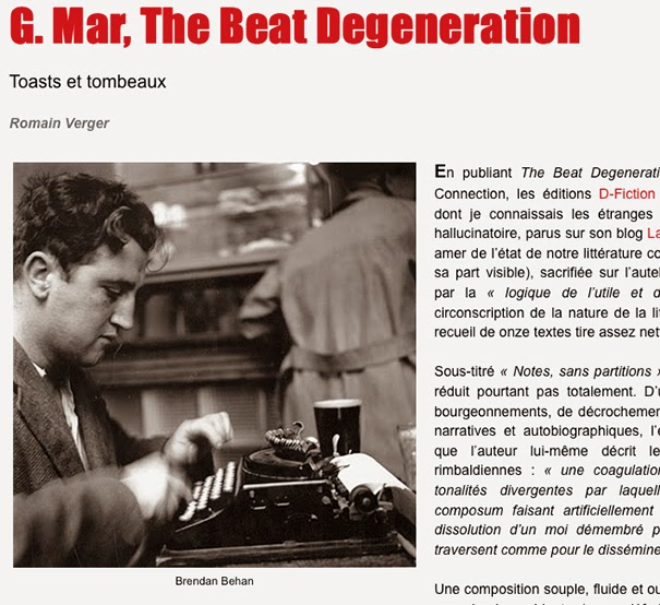 THE BEAT DEGENERATION, selon Romain Verger