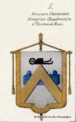 Bannière des chaudronniers de Riom