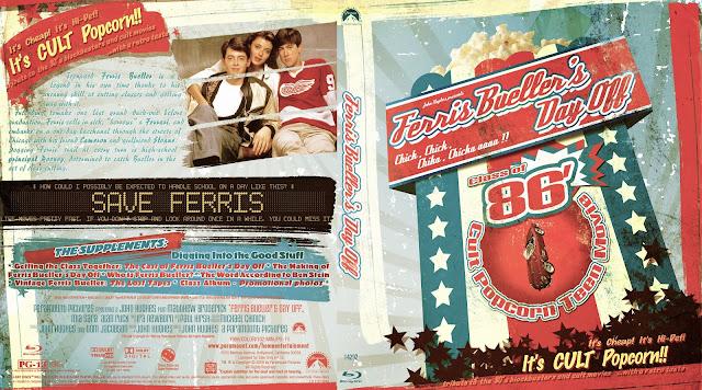 Capa Bluray Ferris Buellers Day Off (Curtindo A Vida Adoidado)