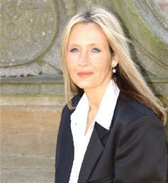 gambar atau foto Penulis Novel Harry Potter JK Rowling