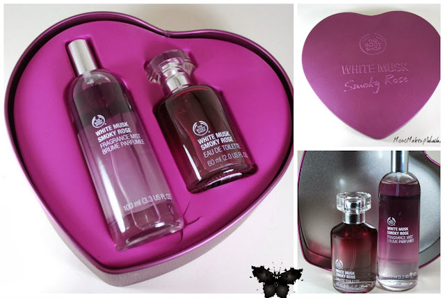 The Body Shop, The Body Shop Gift Set, White Musk, White Musk Smoky Rose
