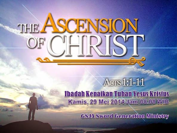 Ibadah Kenaikkan Tuhan Yesus Kristus