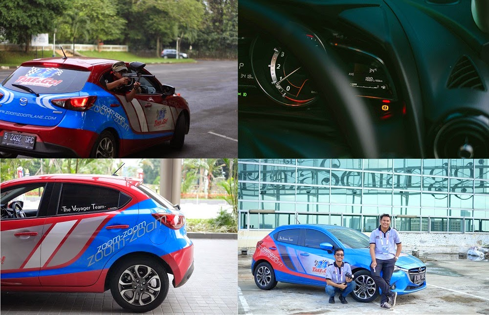 ALL THE NEW MAZDA2 TAKE & GO 24 HOURS CITY TOUR\
