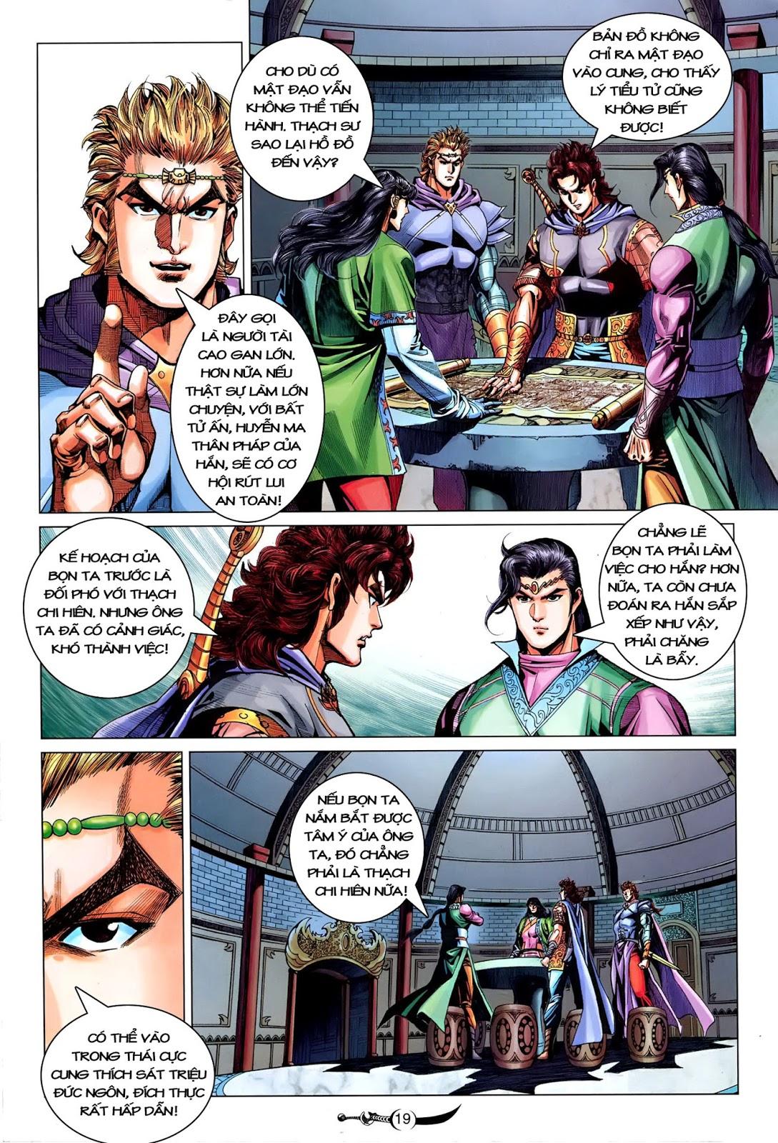 Đại Đường Song Long Truyện chap 216 - Trang 21