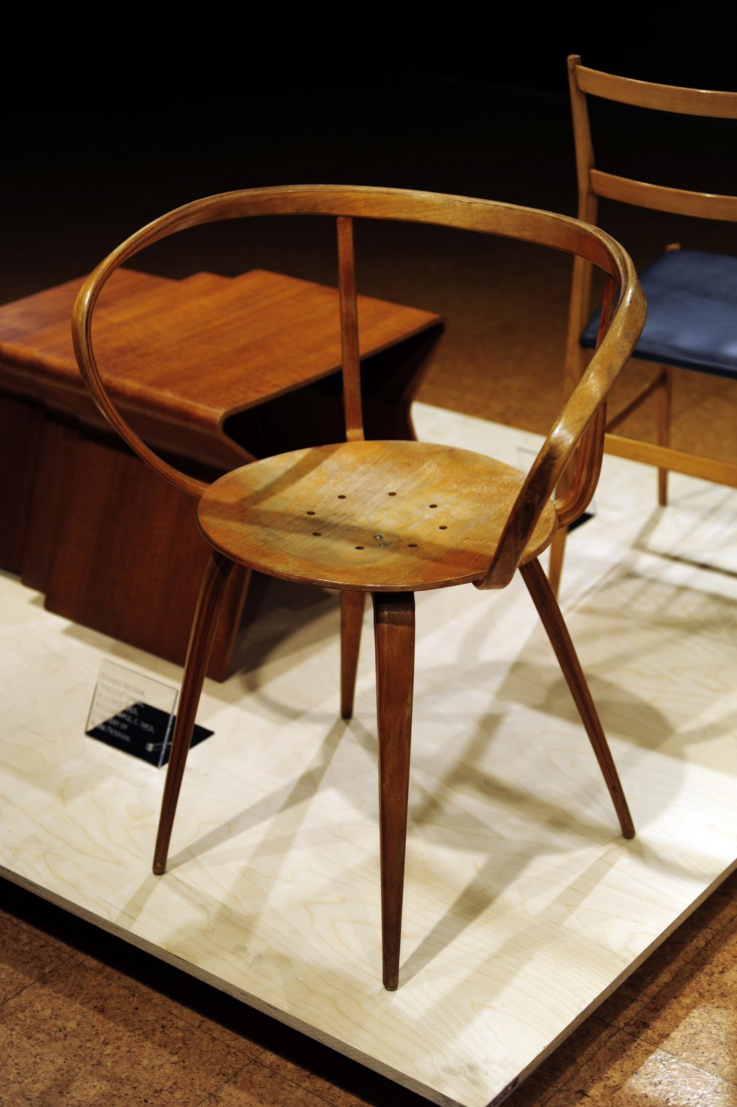 Nelsonu0027s U201cPretzelu201d Chair At NYSID