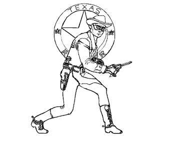 #2 The Lone Ranger Coloring Page