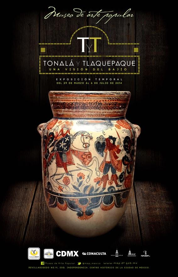 """Inicia exposición """"Tonalá y Tlaquepaque. Una visión del Bajío"""" en el Museo de Arte Popular"""