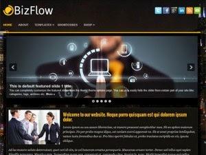 BizFlow - Free Wordpress Theme