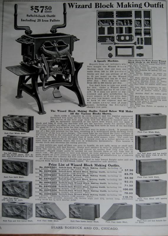 history of concrete hollow blocks