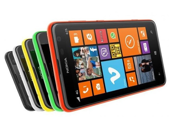Nokia Lumia 625:First Windows based Phablet